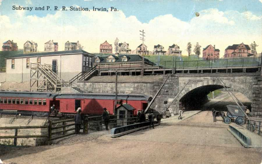 Pennsylvania Railroad Station in Irwin