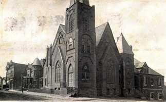 September 1913: First Reformed Church on Main and 4th Street in Irwin (now the First United Church of Christ)