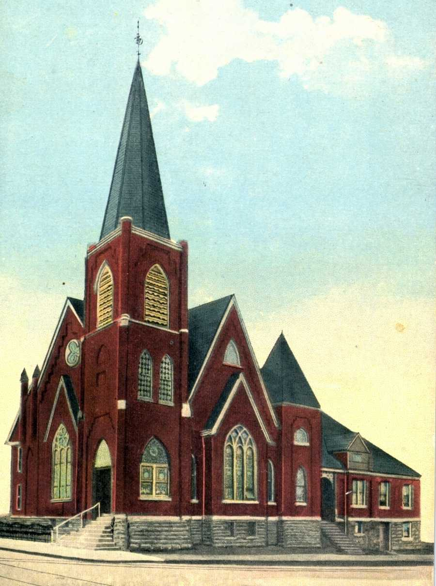First Reformed Church on Main and 4th Street in Irwin (now the First United Church of Christ)