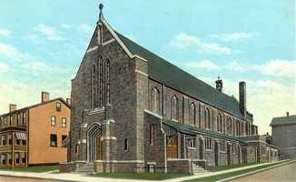 Immaculate Conception Church on 2nd Street in Irwin