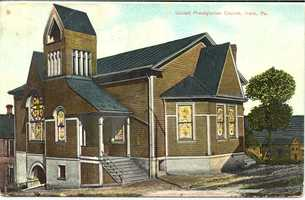 March 1908: United Presbyterian Church on the corner of 4th and Maple Streets in Irwin