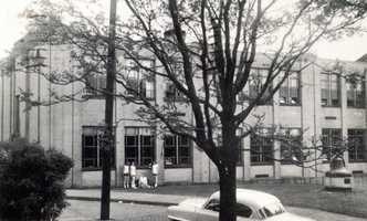 7/19/1954: Irwin High School on 6th Street in Irwin (school has since been demolished)