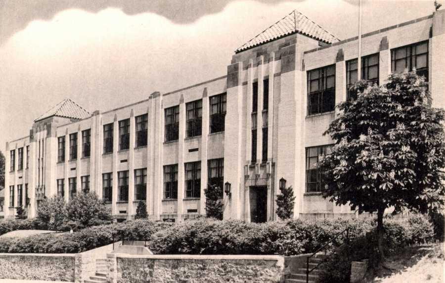 1939: Irwin Public School on 6th Street in Irwin