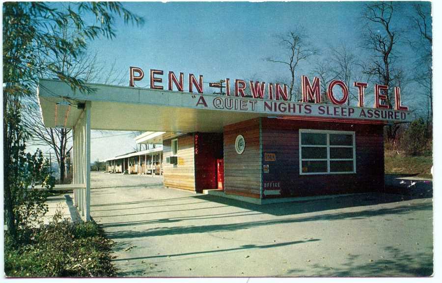 Penn-Irwin Motel on Route 30 in Irwin