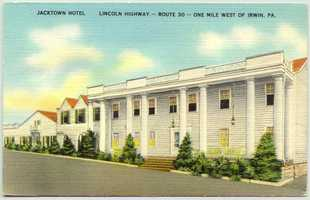 Jacktown Motor Hotel on Route 30 West in North Huntingdon