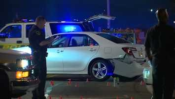 A lengthy Pittsburgh police chase ended with a crash where Ohio River Boulevard and the McKees Rocks Bridge meet.