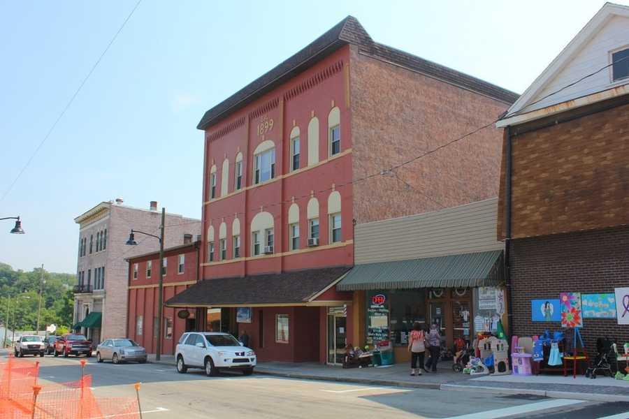 A similar view of Main Street taken in July 2012.
