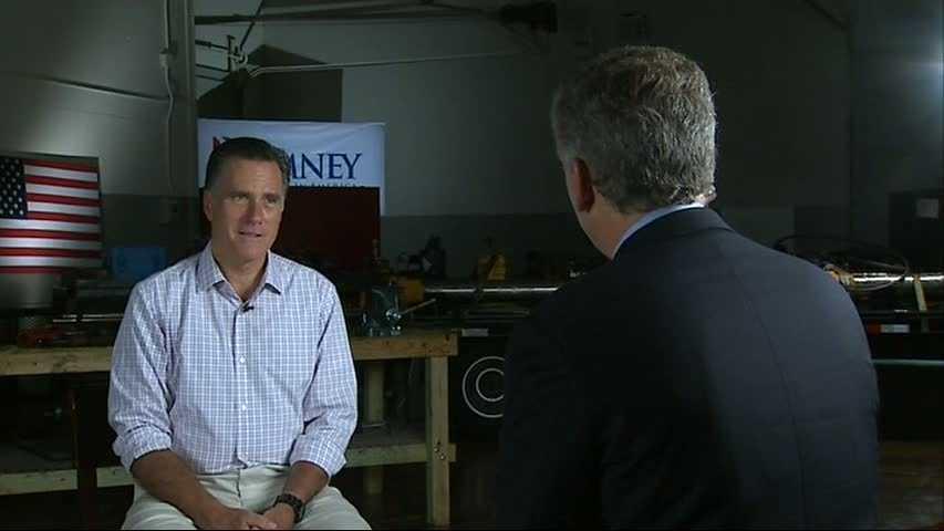 Mike Clark interviews Mitt Romney