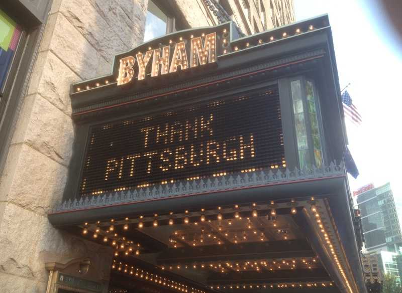 """An invitation-only Pittsburgh premiere for """"The Dark Knight Rises"""" was held at the Byham Theater downtown."""
