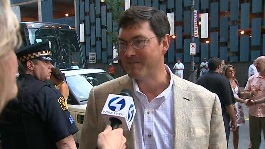 Pittsburgh baseball was represented too, with Pirates owner Bob Nutting.