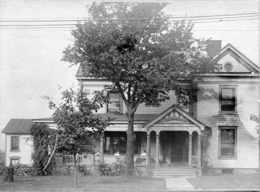 In the late 1880s, Dr. Cyrus Schreiner purchased three acres for $850 at the corner of Washington and Bower Hill roads and built this house.