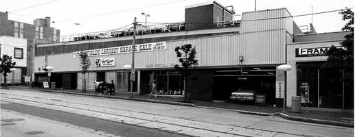 Built in 1958, the North garage was Pittsburgh's first suburban parking garage. It was razed in the 1990s, and a new garage was built.
