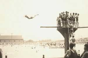 Remember when Kennywood Park included the huge Sunlite Swimming pool? It was removed in 1973.