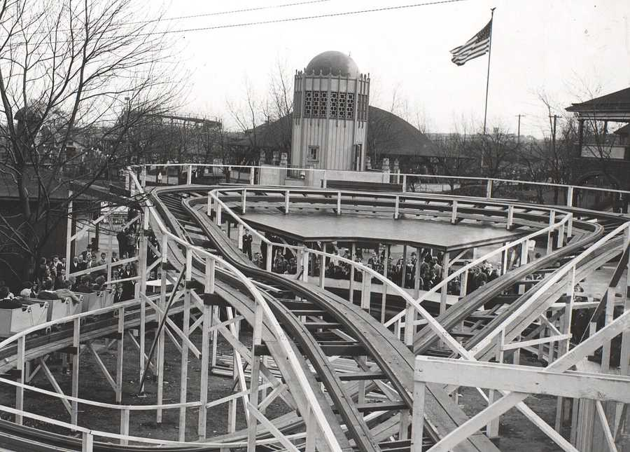 Help us identify this roller coaster ride.  Email webstaff@wtae.com to help. Have your own historical Kennywood Park photos you would like to share with us?  Email ulocal@wtae.com!
