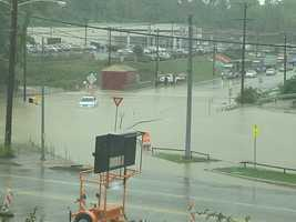 Flooding on Lebanon Church Road