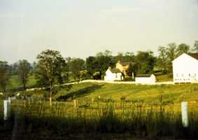 Farmstead of Benjamin Garvin along Route 19.