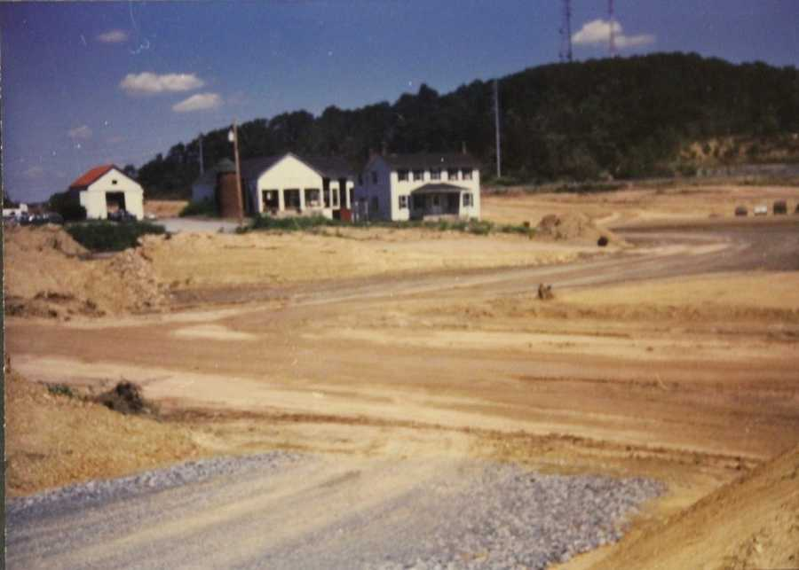 As commercial and residential development grew, Benjamin Garvin's farm was cleared for development.