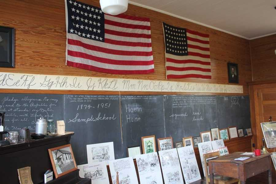 The schoolhouse, located on the front lawn of the Cranberry Township Municipal Center on Rochester Road, is open to visitors in May, June, July, August and September. Admission is FREE!