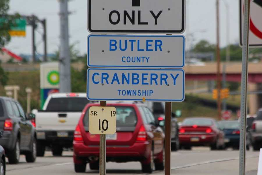 Cranberry Township is located on the Allegheny/Butler County line. Thousands pass through the community each day.
