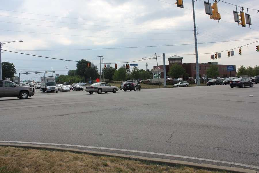 Folks who live in Cranberry and the nearby suburbs will recognize this intersection: Route 19 and Route 228/Freedom Road.  It is one of the busiest intersections in Butler County.