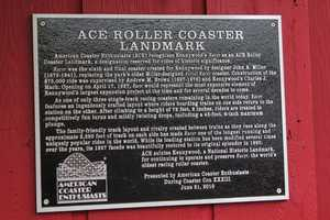 It has also been honored by the American Coaster Enthusiasts, for being the world's oldest 'racing' roller coaster.