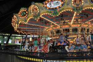 The current Kennywood Merry-Go-Round was put in place in 1927.