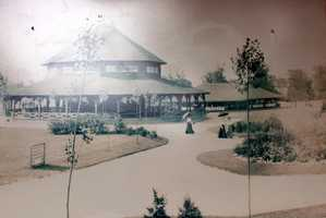 When Kennywood opened to the public, this was one of only three major buildings in the park. It housed the first Merry-Go-Round. In those days, all the horses were stationary because a jumping mechanism hadn't been invented yet.