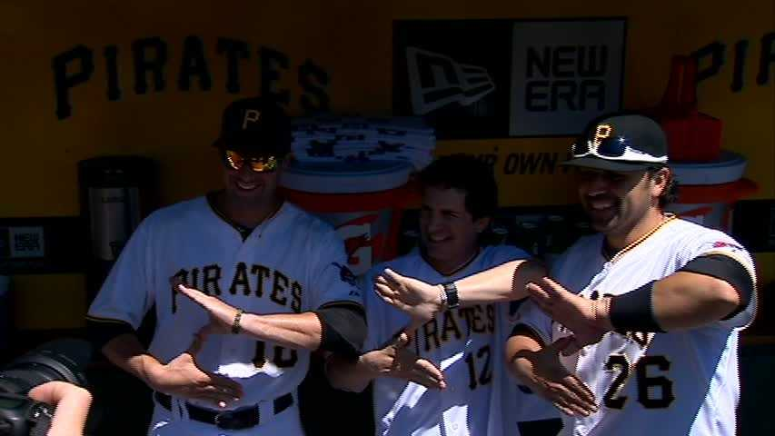 "Neil Walker, Hal ""Zoltan"" Sparks, Rod Barajas"