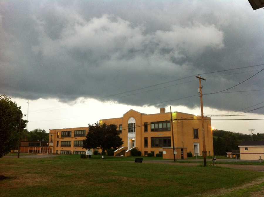 Mapletown High School. Greene County