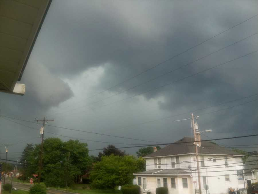Nancy Hoke from Forward Twp., Allegheny County sent us this storm shot.