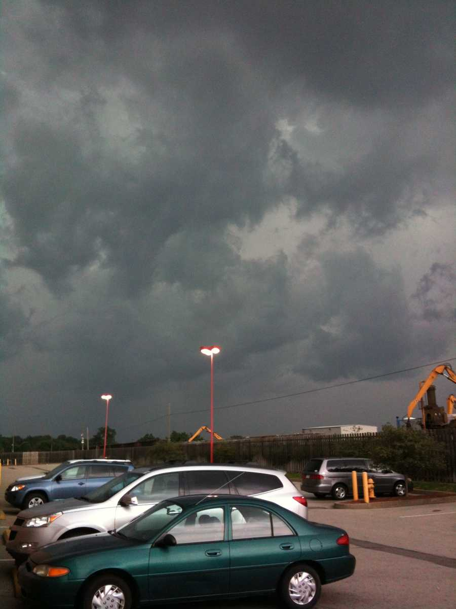 Drew Chelosky snapped this ominous looking cloud photo from West Mifflin