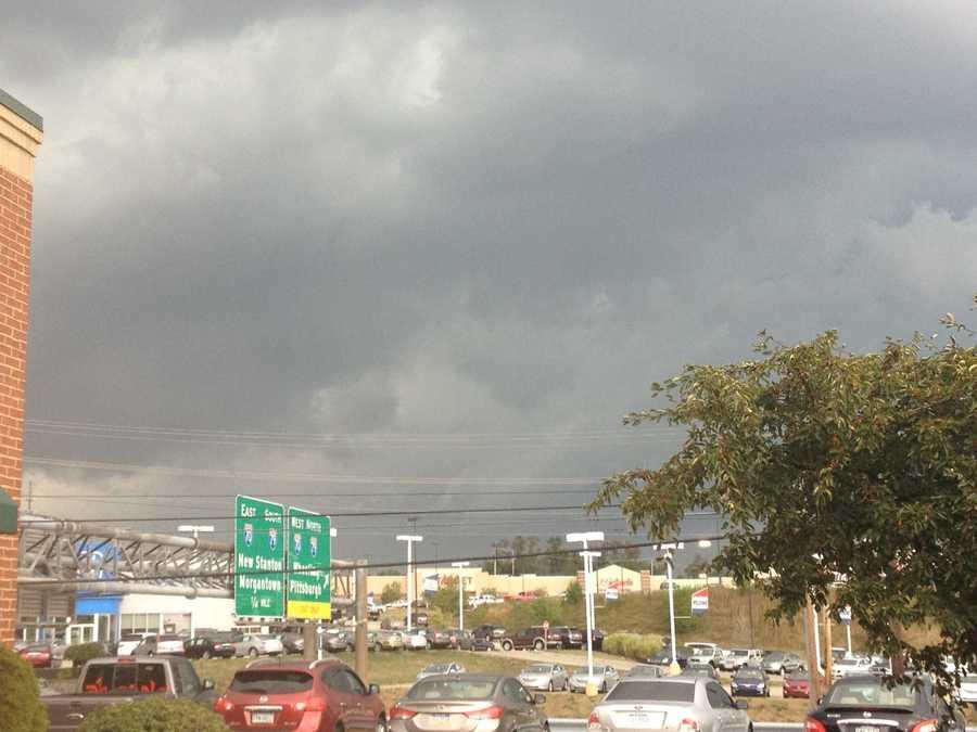 Jessica Wood sent in this photo from near the Washington I-79/I-70 interchange
