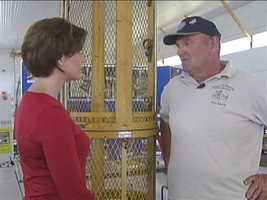 Channel 4 Action News anchor Michelle Wright talks with John Unger