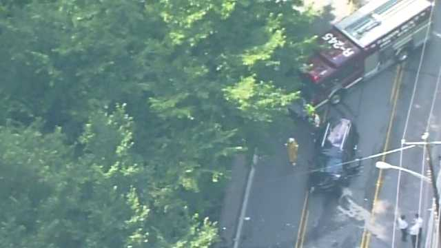 Steubenville Pike crash