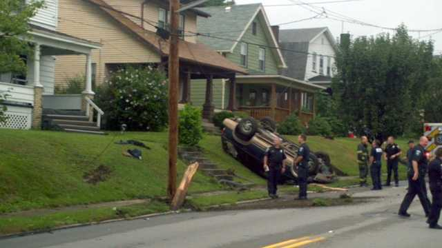 Washington Street crash