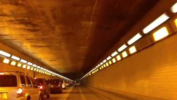 Squirrel Hill Tunnel roof 2