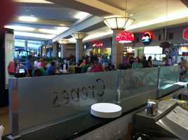 Ross Park Mall food court