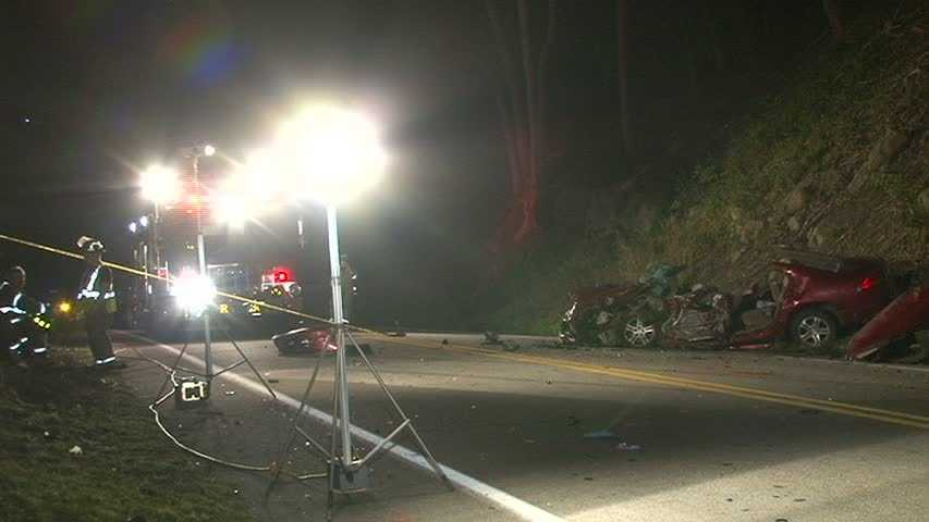 Rescue crews spent much of the night on National Pike (Route 40) in Redstone Township.