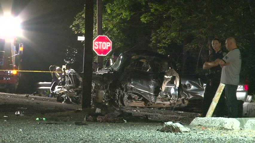 A violent head-on crash in Fayette County killed a man and injured another person who was flown to a hospital early on the morning of Aug. 2, 2012.
