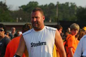 Big Ben Roethlisberger (7) enters Latrobe StadiumDid you take any photos at training camp? Share them with us by clicking here or e-mailing ulocal@wtae.com.  You can see viewer photos by clicking here.