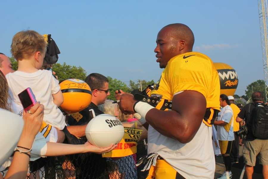 Did you take any photos at training camp? Share them with us by clicking here or e-mailing ulocal@wtae.com.  You can see viewer photos by clicking here.