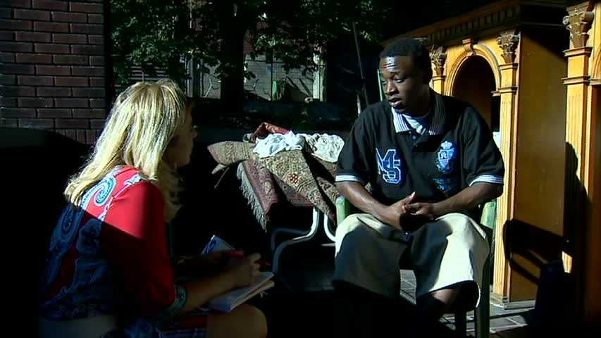 Ford's brother, Dashawn Reid, talks with WTAE Channel 4 Action News reporter Amber Nicotra.
