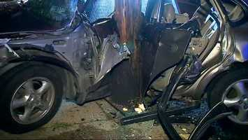 The driver was taken to Allegheny General Hospital in critical condition and has not been identified yet.