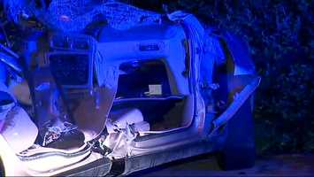 Police said they're still investigating the case and are not sure why the driver lost control.