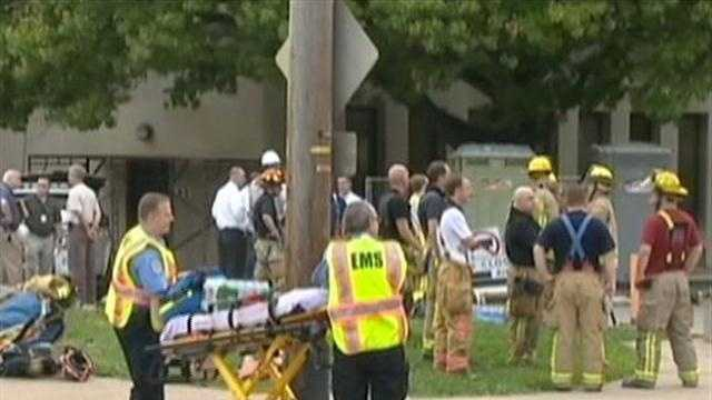 Electrical line hit, transformer blows at Mt. Lebanon High School