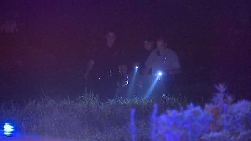 Officers pursued the man and took him into custody.