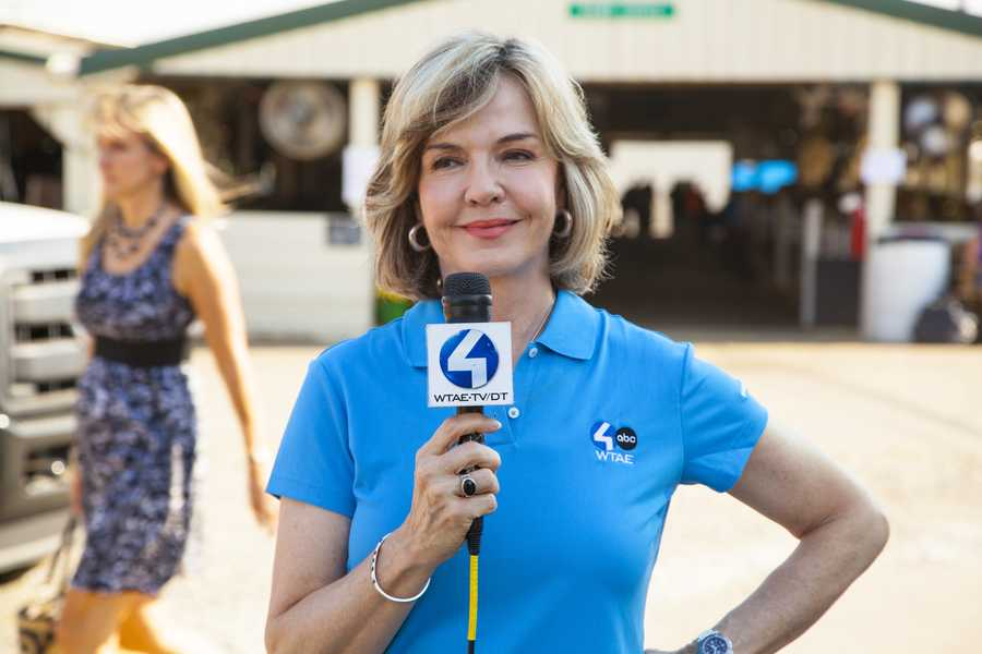 Channel 4 Action News anchor Sally Wiggin at the Westmoreland Fair
