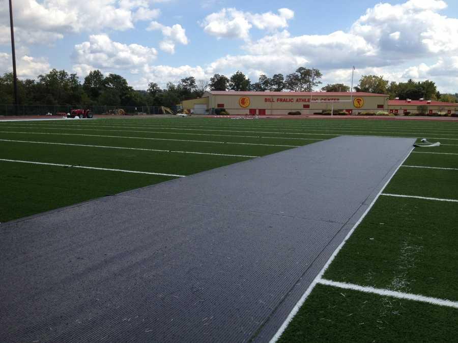 Penn Hills High School athletic field and Bill Fralic Athletic Center
