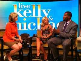 Sally Wiggin interviews Kelly Ripa and Michael Strahan.