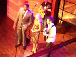 """Phillip Phillips performed on Michael Strahan's first day on """"Live! with Kelly and Michael."""""""